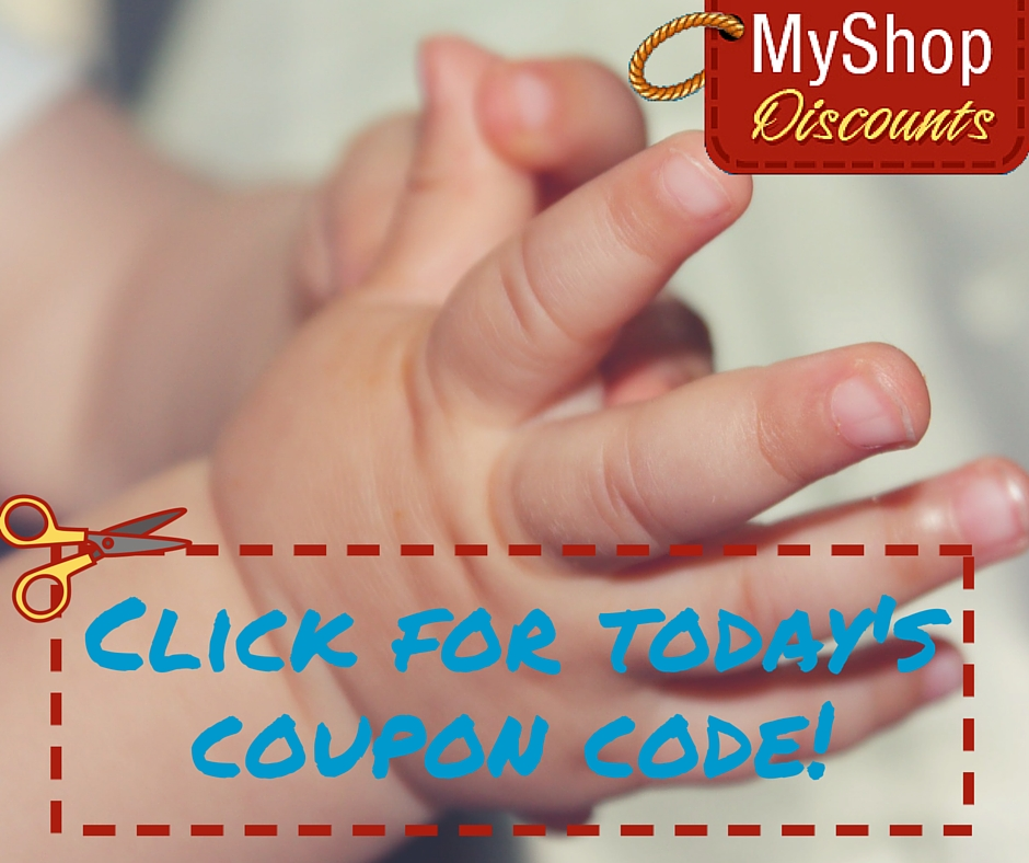 MyShop coupon template baby