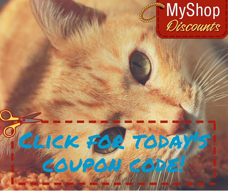 MyShop coupon template cat