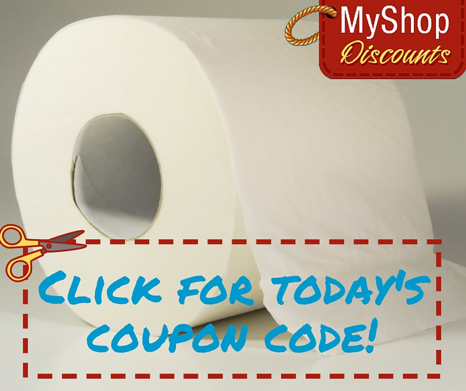 MyShop coupon template toilet paper
