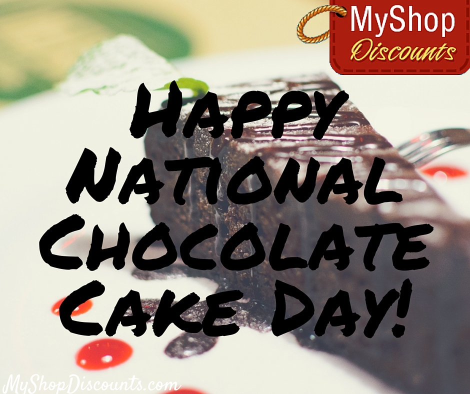 MyShop blog template chocolate cake