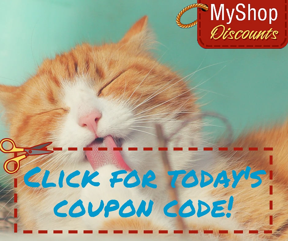 MyShop coupon template kitten