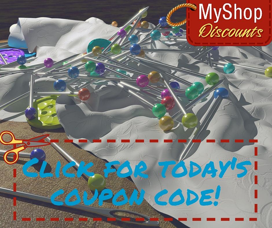 MyShop coupon template pins