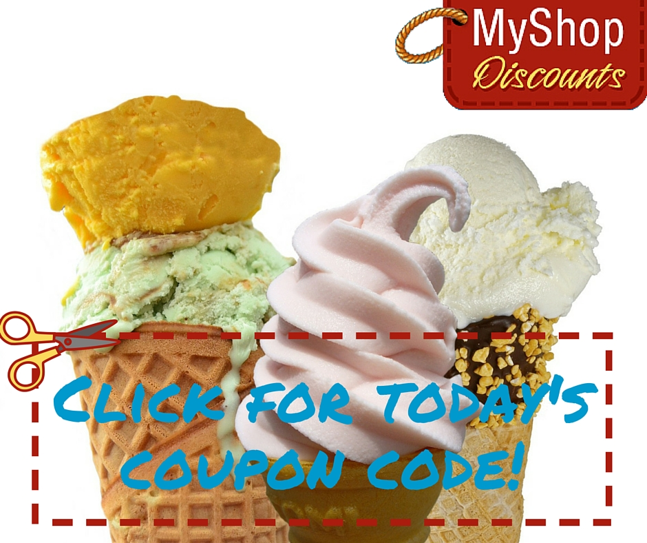 Ice cream discount coupons