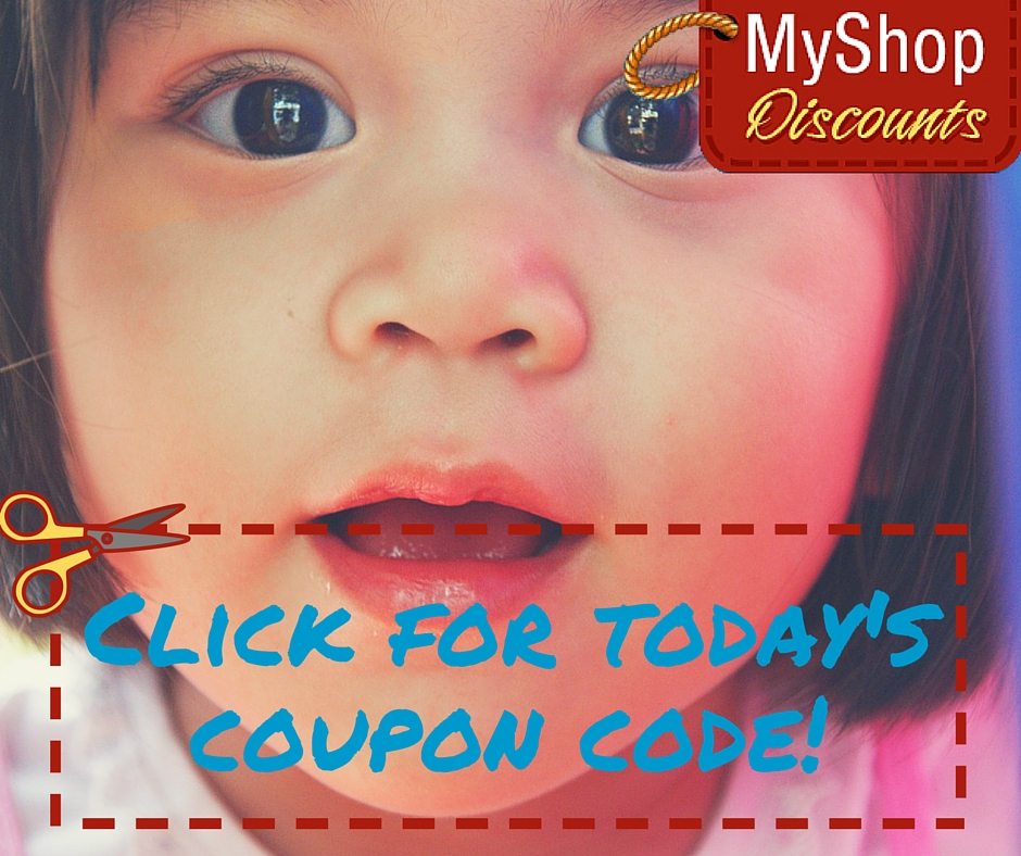 MyShop coupon template toddler