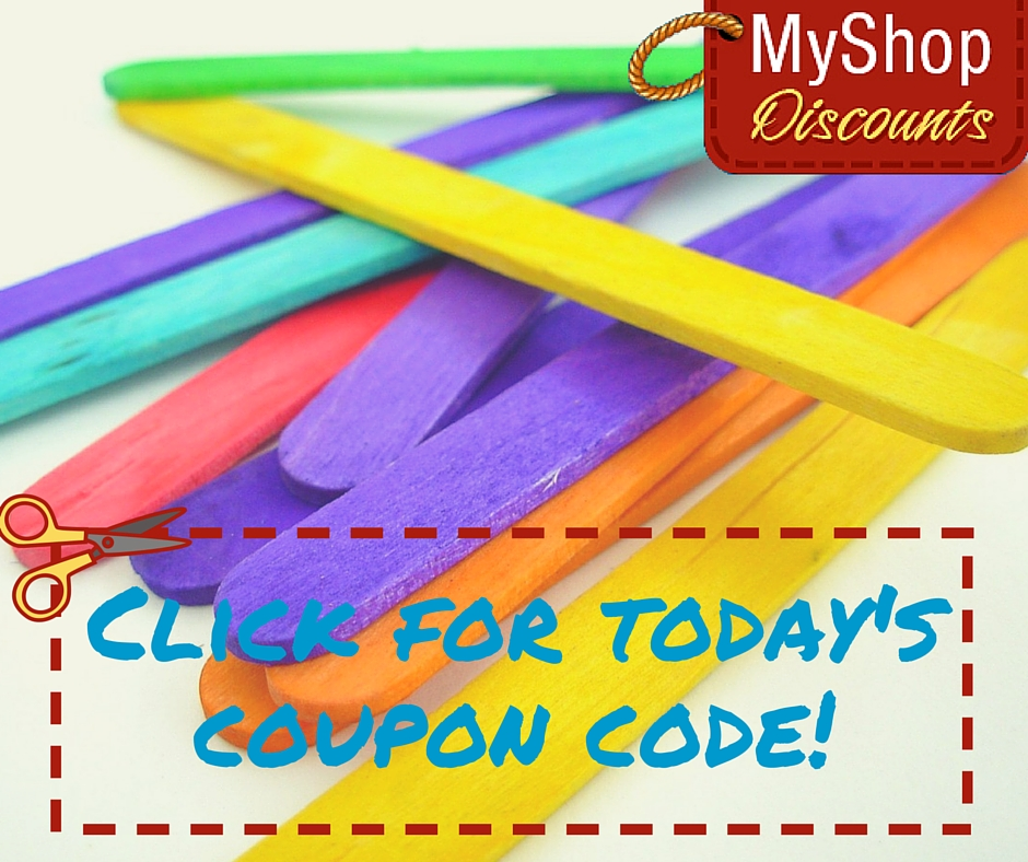 MyShop coupon template popsicle