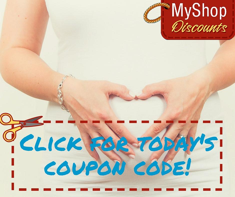 MyShop coupon template prenatal