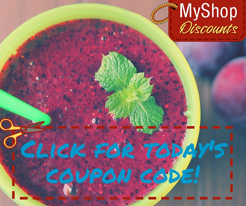 MyShop coupon template smoothie